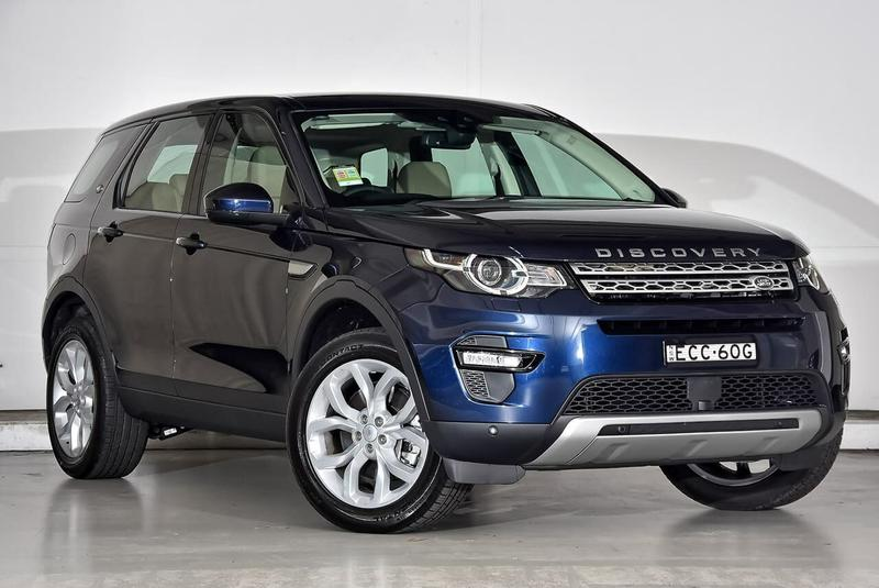 LAND ROVER DISCOVERY SPORT SD4 L550 SD4 HSE Luxury Wagon 5dr Spts Auto 9sp 4x4 2.0DTT [MY19]