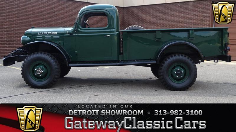 Dodge Power Wagon For Sale >> 1946 Dodge Power Wagon 4 Speed Manual