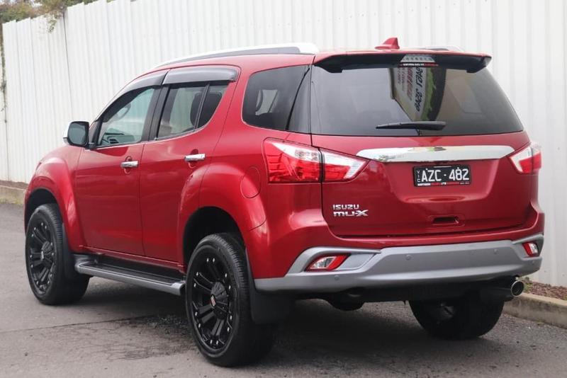 ISUZU MU-X LS-T LS-T Wagon 7st 5dr Rev-Tronic 6sp 4x2 3.0DT [MY19]