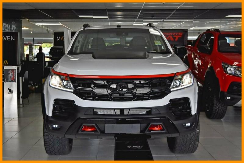 HOLDEN SPECIAL VEHICLES COLORADO SportsCat RG SportsCat RS Pickup Crew Cab 4dr Spts Auto 6sp 4x4 2.8DT [MY19]