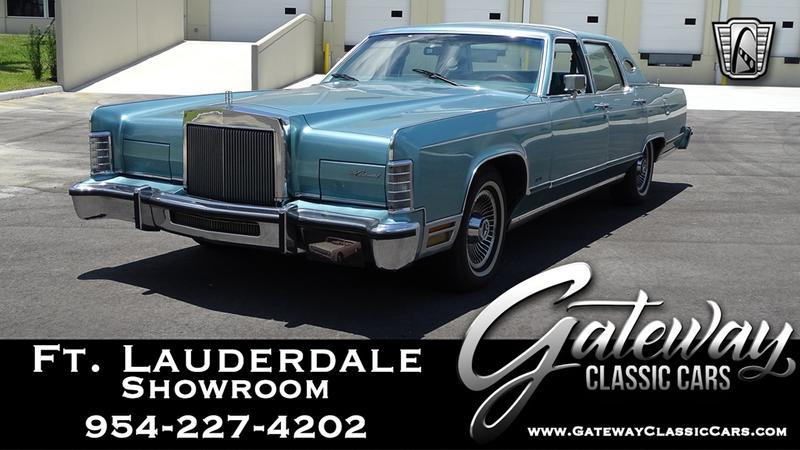 1979 LINCOLN CONTINENTAL 3 Speed Automatic