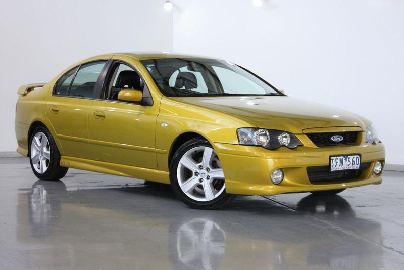 2003 FORD FALCON XR6 Turbo