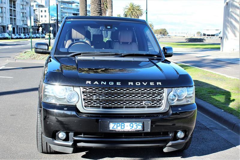 LAND ROVER RANGE ROVER VOGUE TDV8 L322 TDV8 Luxury Wagon 5dr Spts Auto 6sp 4x4 3.6DTT [MY10]
