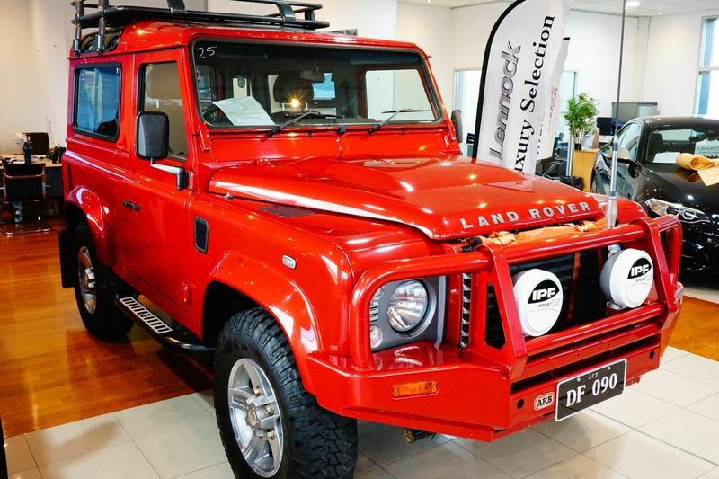 LAND ROVER DEFENDER  90 Wagon 3dr Man 6sp 4x4 2.2DT [MY12]
