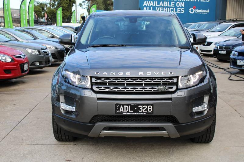 LAND ROVER RANGE ROVER TD4 L538 TD4 Pure Tech Wagon 5dr Spts Auto 9sp 4x4 2.2DT [MY15]