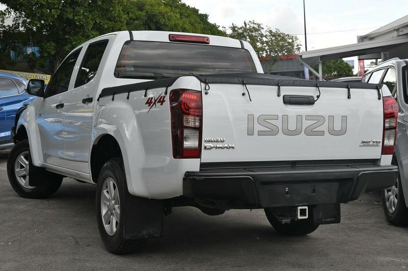 ISUZU D-MAX LS-M LS-M Utility Crew Cab 4dr Spts Auto 5sp 4x4 3.0DT [MY15]