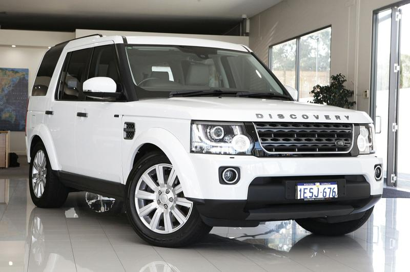 LAND ROVER DISCOVERY TDV6 Series 4 TDV6 Wagon 5dr Spts Auto 8sp 4x4 3.0DTT [MY15]
