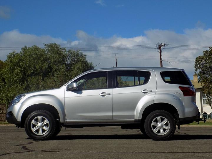 ISUZU MU-X LS-M LS-M Wagon 7st 5dr Rev-Tronic 5sp 4x2 3.0DT [MY15]