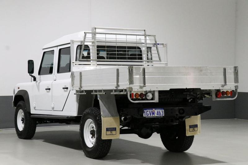 LAND ROVER DEFENDER  130 Cab Chassis Crew Cab 4dr Man 6sp 4x4 2.4DT (130) [MY11]