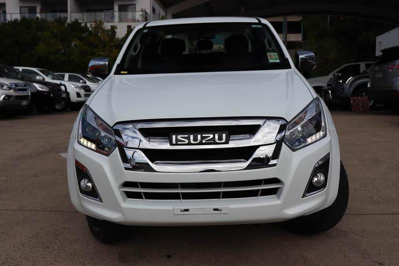 ISUZU D-MAX LS-U LS-U High Ride Utility Crew Cab 4dr Spts Auto 6sp 4x2 3.0DT [MY18]