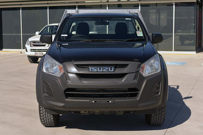 ISUZU D-MAX EX EX Cab Chassis Single Cab 2dr Man 6sp 4x4 3.0DT [MY18]