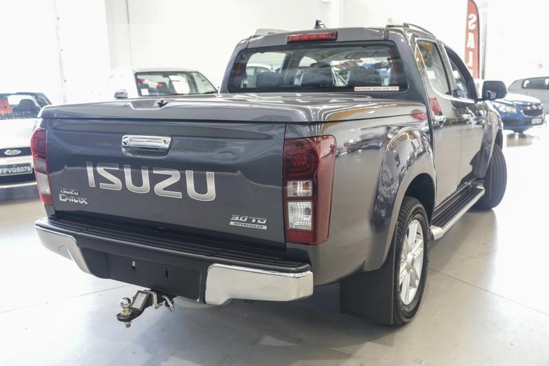 ISUZU D-MAX LS-T LS-T High Ride Utility Crew Cab 4dr Spts Auto 6sp 4x2 3.0DT [MY18]