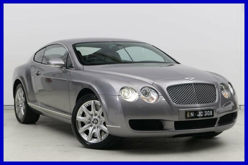 BENTLEY CONTINENTAL GT 3W GT Coupe 2dr Spts Auto 6sp 4WD 6.0TT