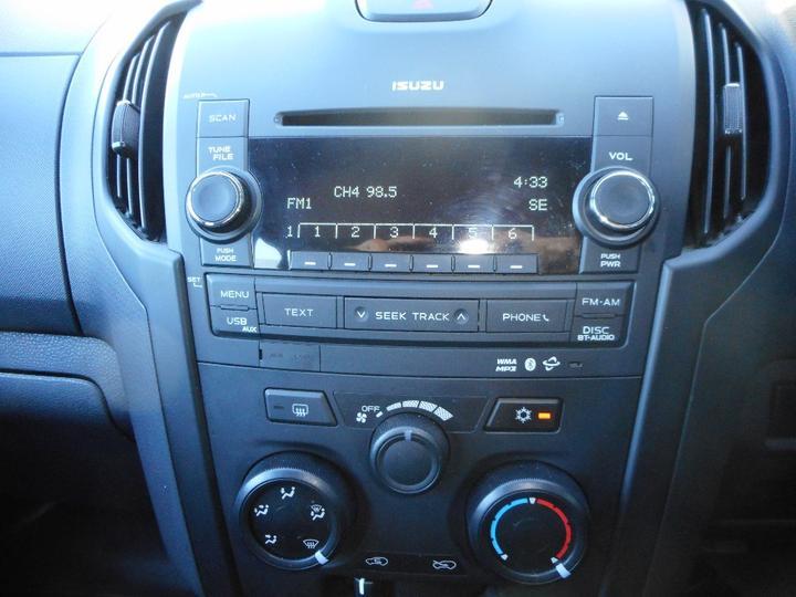 ISUZU D-MAX SX SX Utility Crew Cab 4dr Man 5sp 4x4 3.0DT [MY15]