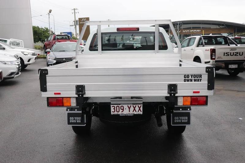 ISUZU D-MAX SX SX Cab Chassis Crew Cab 4dr Spts Auto 6sp 4x4 3.0DT [MY19]