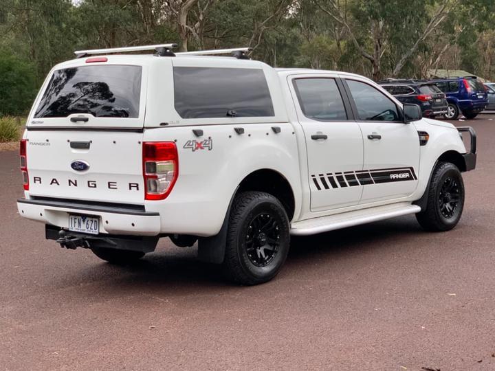 FORD RANGER XL PX MkII XL Utility Double Cab 4dr Spts Auto 6sp 4x4 3.2DT [Jun]