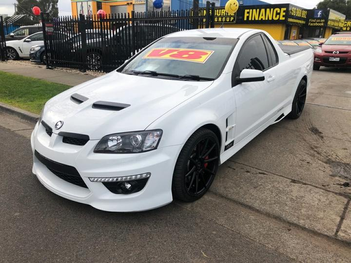 HOLDEN SPECIAL VEHICLES MALOO R8 E Series 3 Utility Extended Cab 2dr Spts Auto 6sp 6.2i [MY12.5]