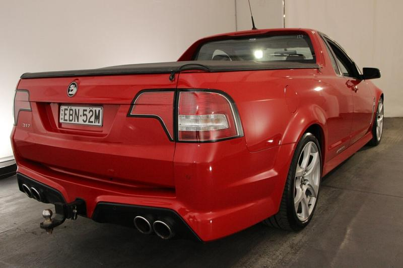 HOLDEN SPECIAL VEHICLES MALOO  GEN-F Utility Extended Cab 2dr Man 6sp 6.2i [MY14]