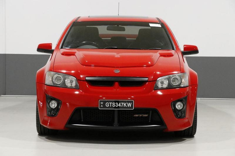 HOLDEN SPECIAL VEHICLES GTS  E Series Sedan 4dr Spts Auto 6sp 6.0i