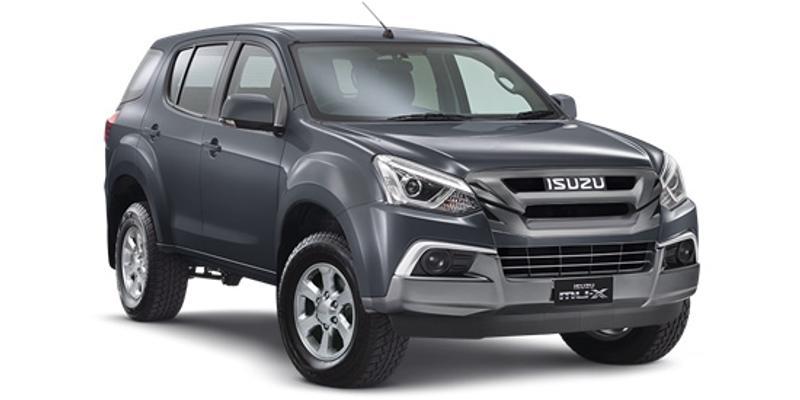 ISUZU MU-X LS-M LS-M Wagon 7st 5dr Rev-Tronic 6sp 4x2 3.0DT [MY17]