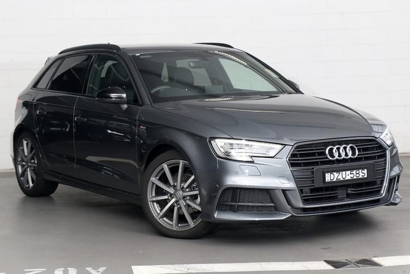 2018 Audi A3 Black Edition