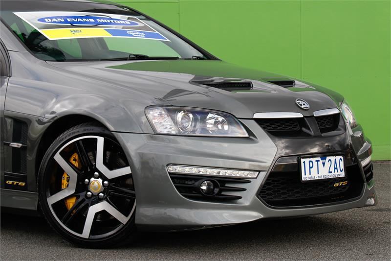 HOLDEN SPECIAL VEHICLES GTS  E Series 3 Sedan 4dr Spts Auto 6sp 6.2i [MY12]