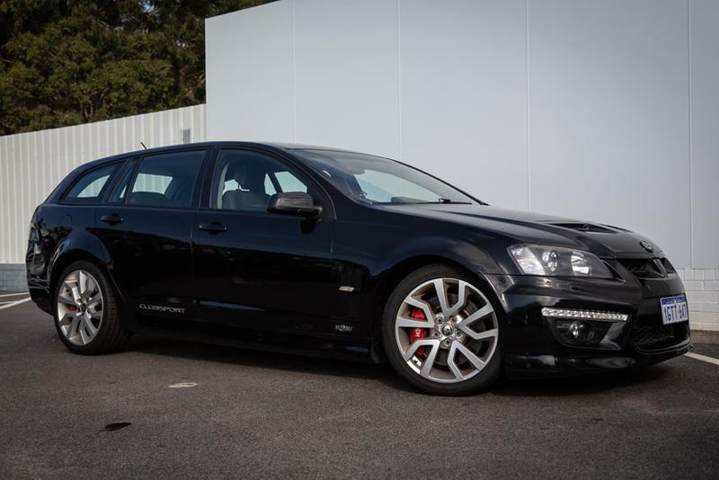 HOLDEN SPECIAL VEHICLES CLUBSPORT R8 E Series 3 R8 Tourer 5dr Spts Auto 6sp 6.2i [MY12]
