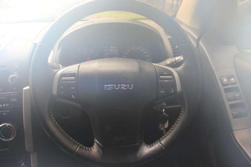 ISUZU D-MAX LS-M LS-M Utility Crew Cab 4dr Man 5sp 4x4 3.0DT [MY14]
