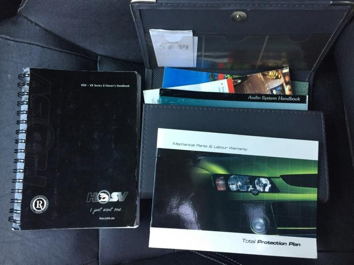 HOLDEN SPECIAL VEHICLES XU6  VX II Sedan 4dr Auto 4sp 3.8SC