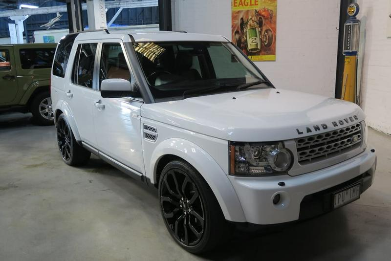 LAND ROVER DISCOVERY 4 TDV6 Series 4 TDV6 Wagon 5dr Spts Auto 8sp 4x4 3.0DTT [MY13]
