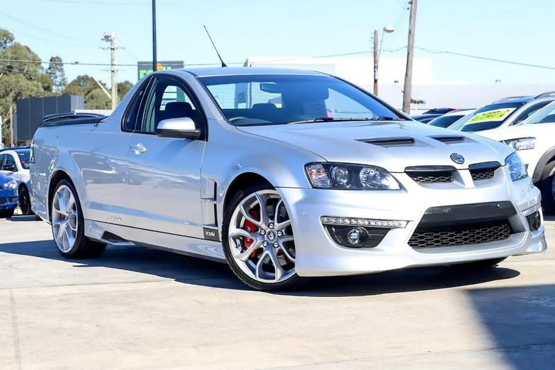 HOLDEN SPECIAL VEHICLES MALOO  E Series 3 Utility Extended Cab 2dr Man 6sp 6.2i [MY12.5]