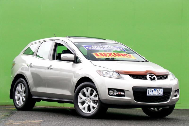 MAZDA CX-7 Luxury ER Series 1 Luxury Wagon 5dr Spts Auto 6sp 4WD 2.3T [MY07]
