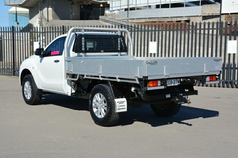MAZDA BT-50 XT UR XT Hi-Rider Cab Chassis Single Cab 2dr Man 6sp 4x2 3.2DT
