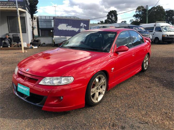 HOLDEN SPECIAL VEHICLES CLUBSPORT R8 VX R8 Sedan 4dr Auto 4sp 5.7i [Sep]