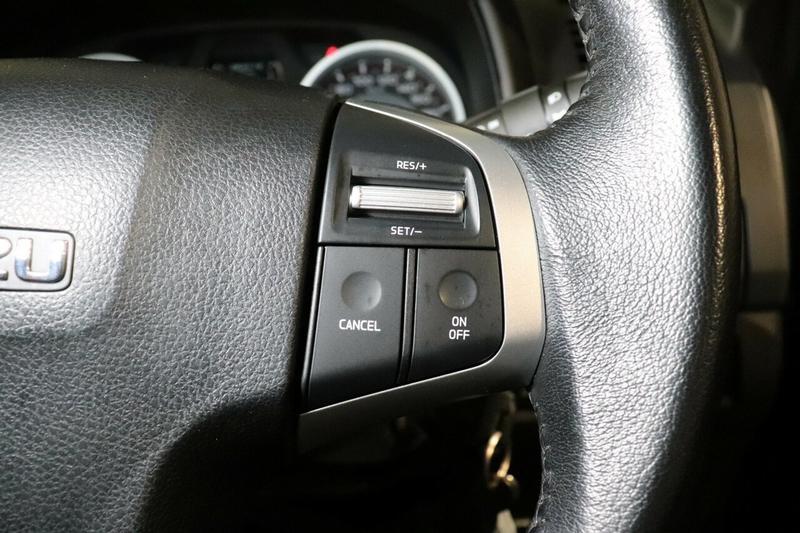 ISUZU D-MAX LS-U LS-U Utility Crew Cab 4dr Spts Auto 6sp 4x4 3.0DT [MY17]