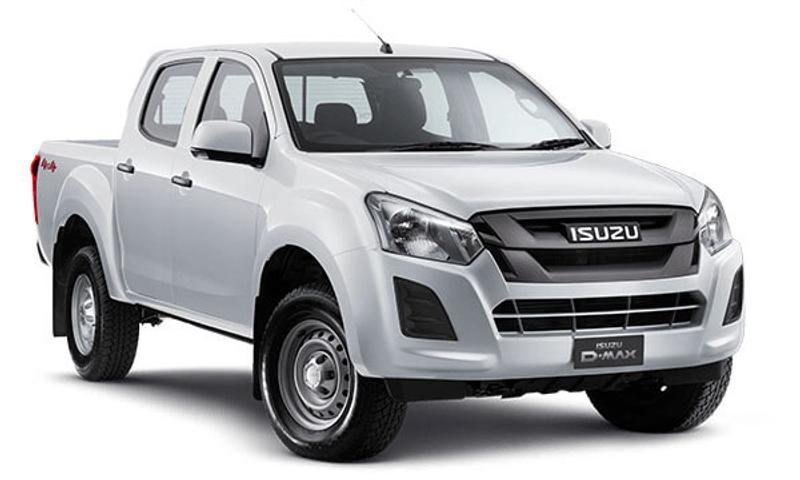 ISUZU D-MAX SX SX Utility Crew Cab 4dr Spts Auto 6sp 4x4 3.0DT [MY19]