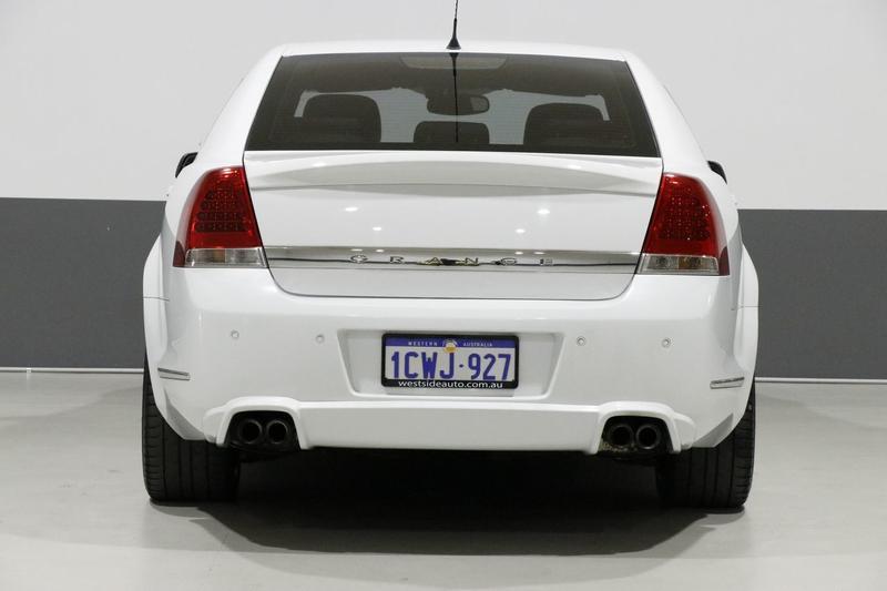 HOLDEN SPECIAL VEHICLES GRANGE  WM Sedan 4dr Spts Auto 6sp 6.2i [MY09]