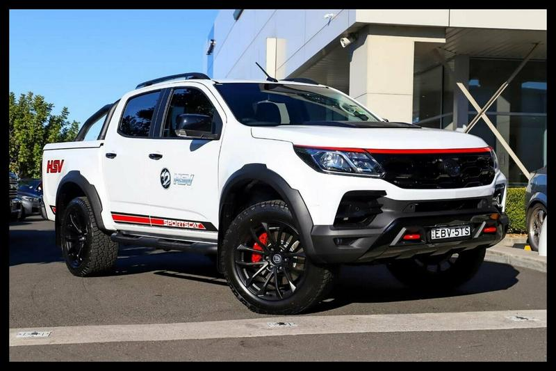 HOLDEN SPECIAL VEHICLES COLORADO SPORTSCAT RS PACK (4x4)