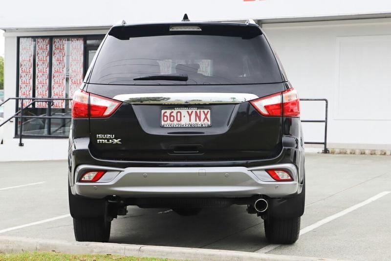ISUZU MU-X LS-T LS-T Wagon 7st 5dr Rev-Tronic 6sp 4x2 3.0DT [MY18]