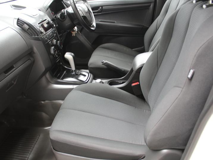 ISUZU D-MAX SX SX Cab Chassis Crew Cab 4dr Spts Auto 5sp 4x4 3.0DT [MY14]