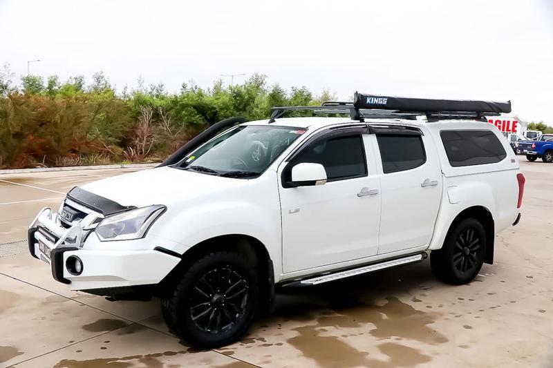 ISUZU D-MAX LS-M LS-M Utility Crew Cab 4dr Spts Auto 6sp 4x4 3.0DT [MY17]