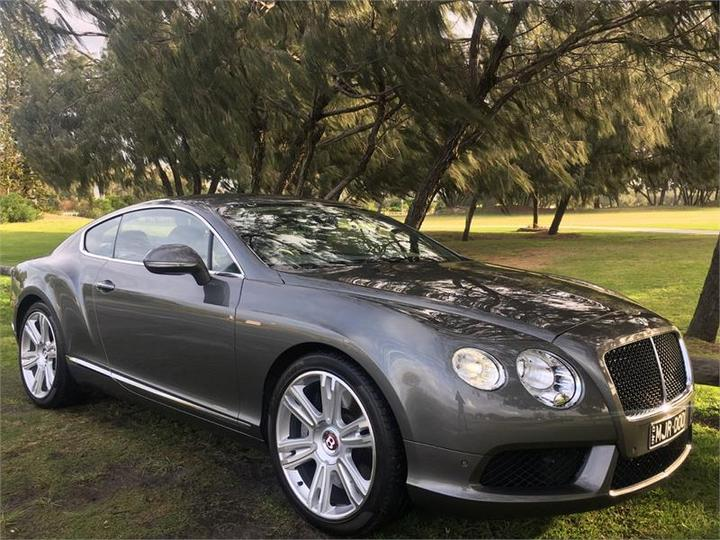 BENTLEY CONTINENTAL GT 3W GT V8 Coupe 2dr Spts Auto 8sp 4x4 4.0TT [MY13]