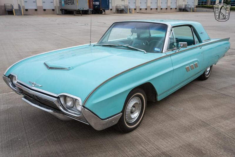 1963 Ford Thunderbird 3 Speed Automatic
