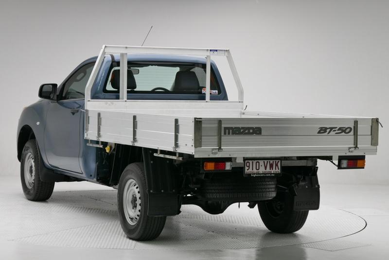 MAZDA BT-50 XT UP XT Hi-Rider Cab Chassis Single Cab 2dr Spts Auto 6sp 4x2 2.2DT