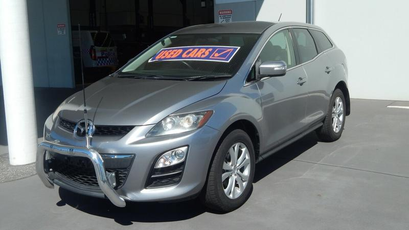 MAZDA CX-7 Classic ER Series 2 Classic Sports Wagon 5dr Activematic 6sp 4WD 2.3T