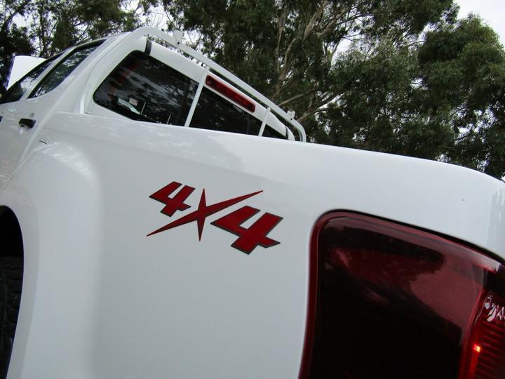 ISUZU D-MAX SX SX Utility Crew Cab 4dr Spts Auto 5sp 4x4 3.0DT [MY12]