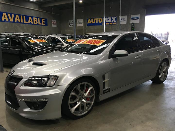HOLDEN SPECIAL VEHICLES CLUBSPORT R8 E Series 3 R8 Sedan 4dr Spts Auto 6sp 6.2i