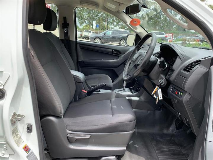 ISUZU D-MAX SX SX High Ride Utility Crew Cab 4dr Spts Auto 5sp 4x2 3.0DT [MY14]