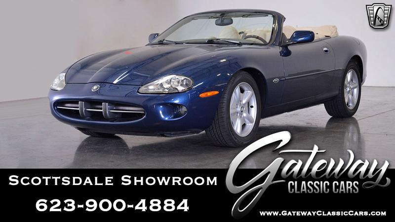 1997 JAGUAR XK8 5 Speed Automati