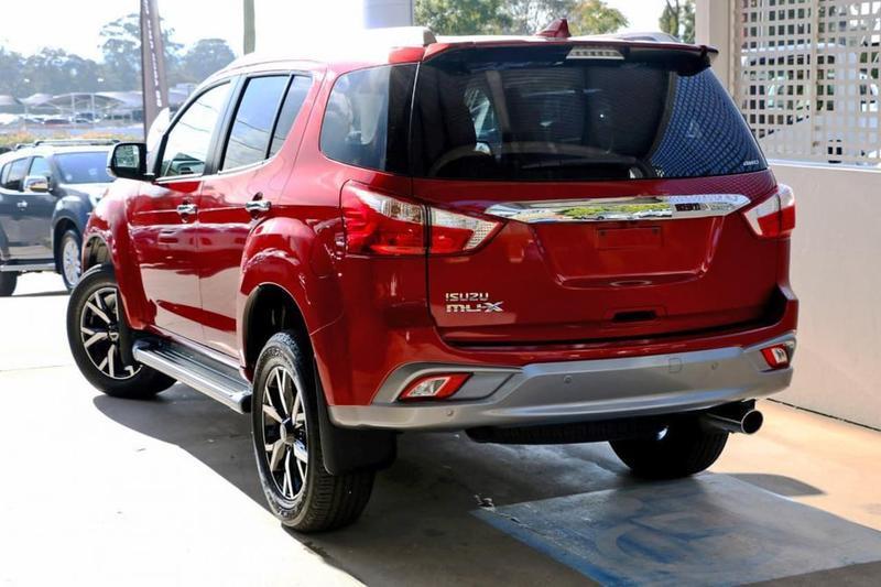 ISUZU MU-X LS-T LS-T Wagon 7st 5dr Rev-Tronic 6sp 4x4 3.0DT [MY19]